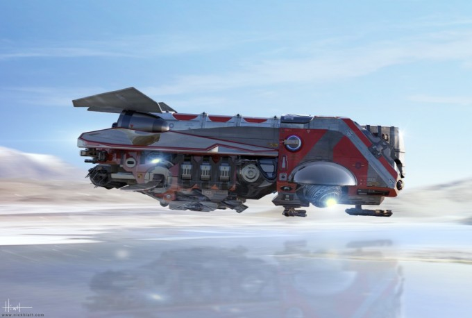 Nicholas_Hiatt_Spaceship_Design_Zbrush_01