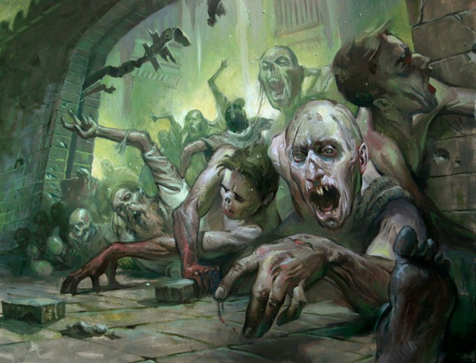 30 Concept Art And Illustrations Of Zombies Concept Art