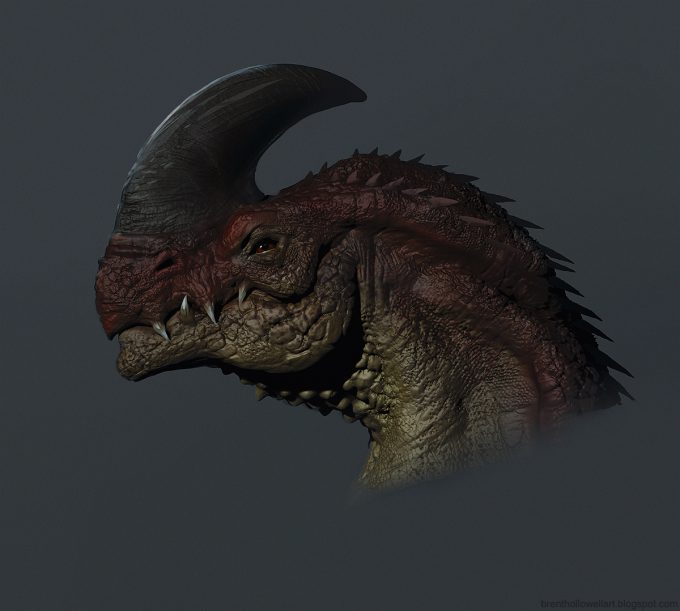 Brent_Hollowell_Creature_Concept_Art_dragon