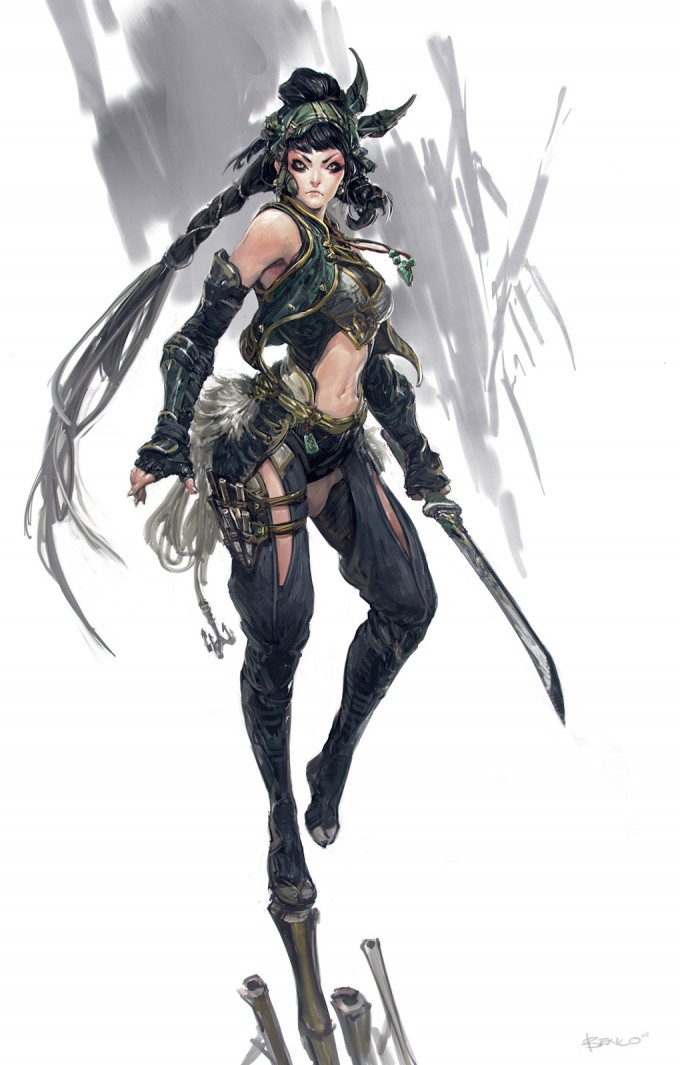 Concept_Art_Ben_Lo_17_Tribe_nightguard_girl