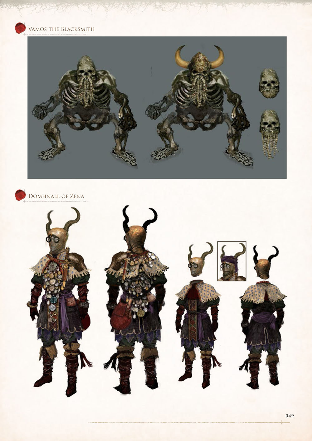 Dark Souls Character Design Process : Dark souls design works concept art world