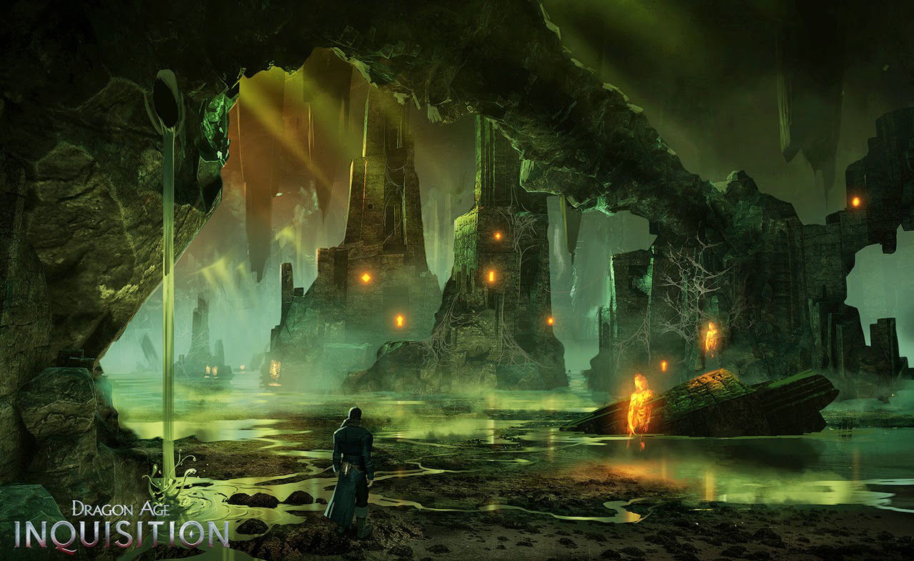 Dragon Age Inquisition Environment Concept Art Concept Art World