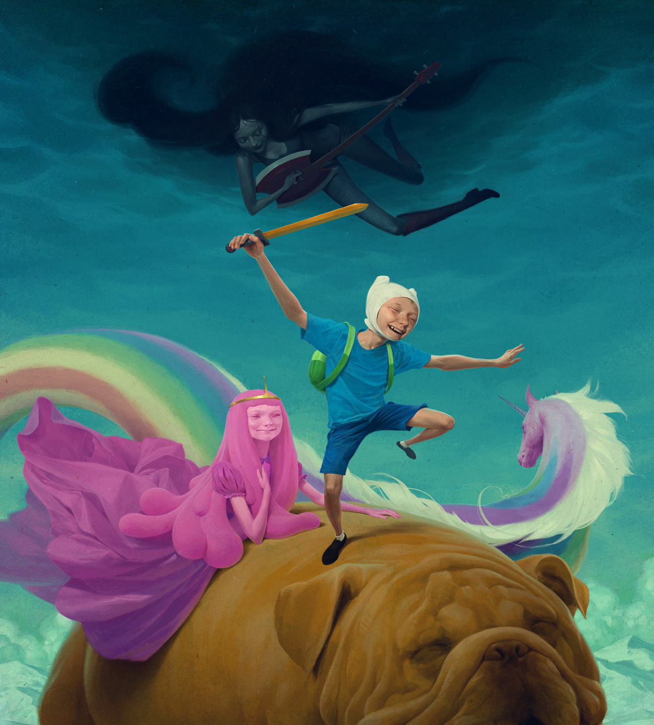 meet the artists of adventure time