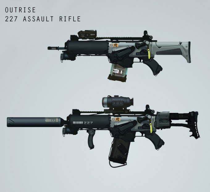 Outrise_Game_Concept_Art_Weapon_Outrise_Assault_Rifle