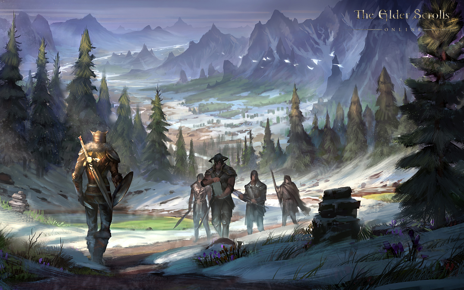 The Elder Scrolls Online Wallpaper Concept Art Concept Art World