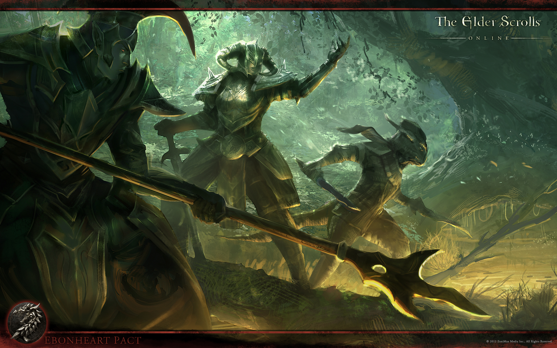 The Elder Scrolls Online Wallpaper Concept Art