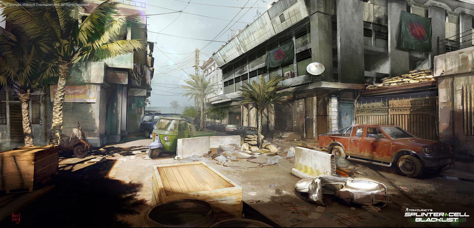 Splinter Cell Blacklist Concept Art By Nacho Yag 252 E