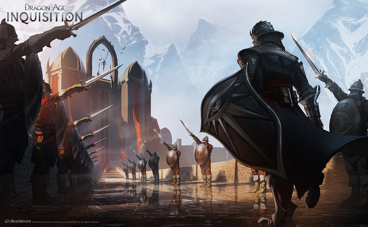 Dragon Age Bioware Video Games Rpg Fantasy Art: Dragon Age: Inquisition Concept Art And Illustrations By