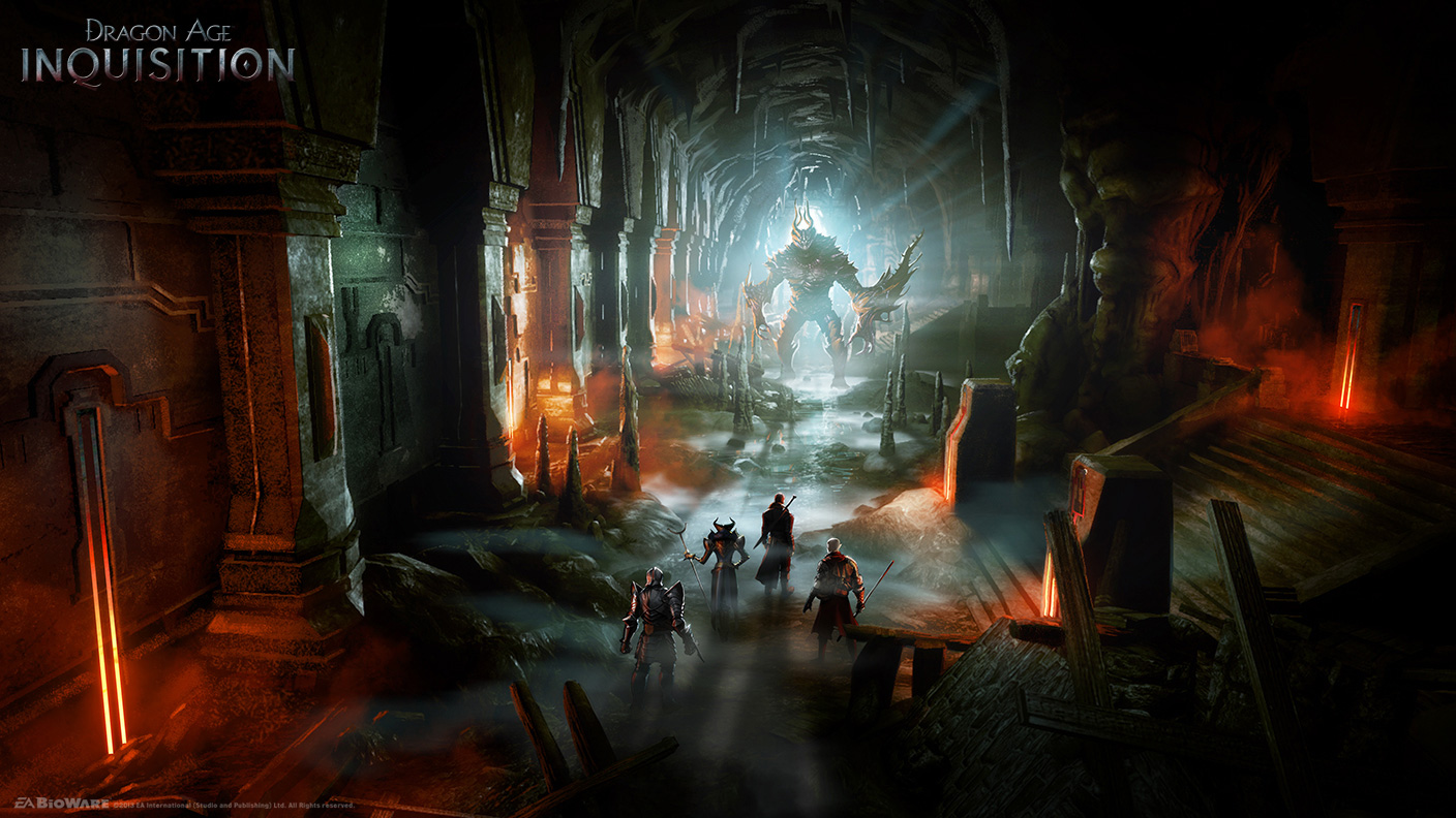 Dragon Age Inquisition Concept Art and Illustrations by Matt Rhodes Concep