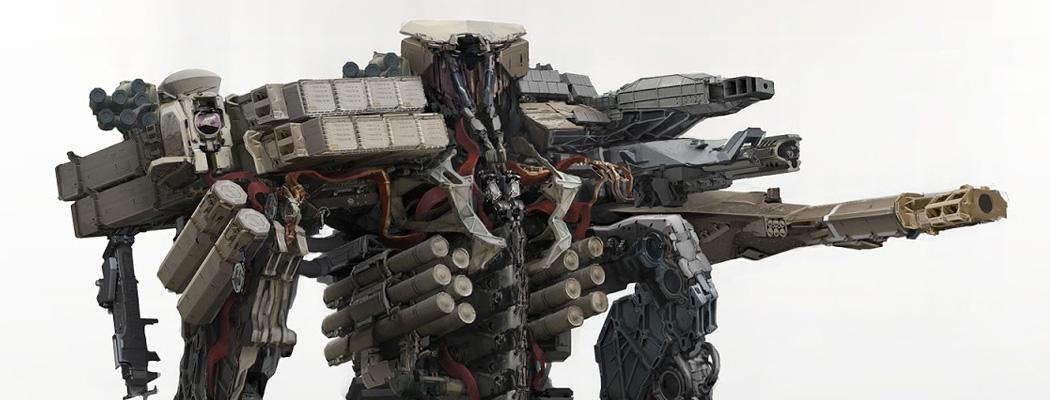 World War Machine Robot Concept Art By Aaron Beck Concept