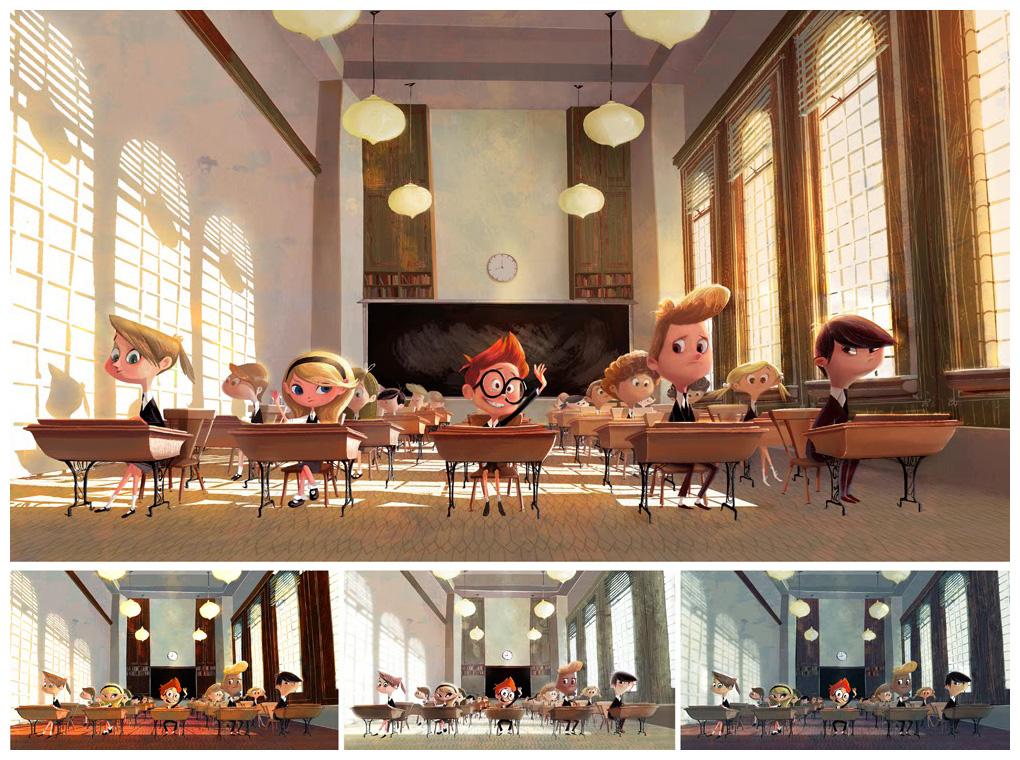 Mr. Peabody & Sherman Visual Development Art by Priscilla