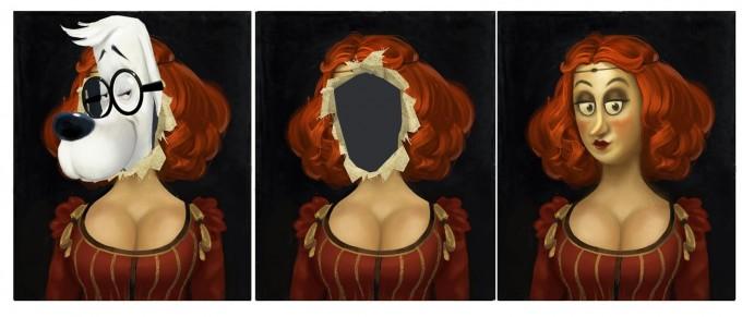 Mr_Peabody_Sherman_Concept_Art_Bryan_Lashelle_boobs_mcgee