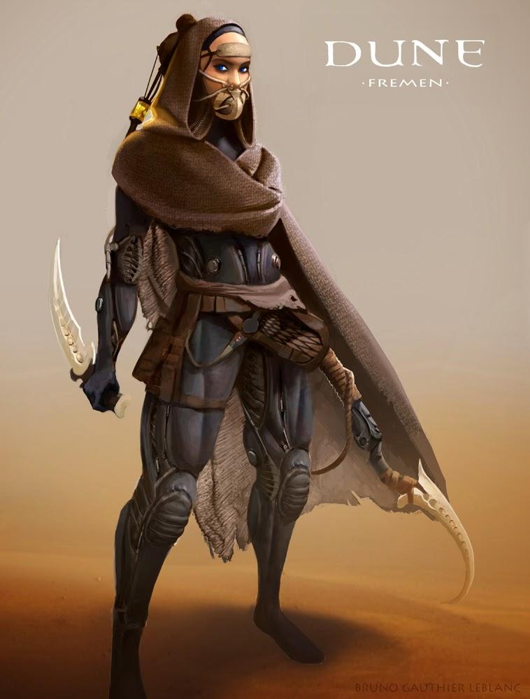 Concept Art Dune Sci Fi
