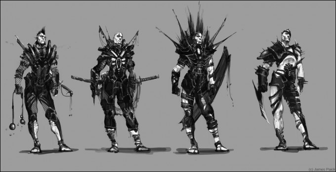 James_Paick_Concept_Art_Character_Line_Up