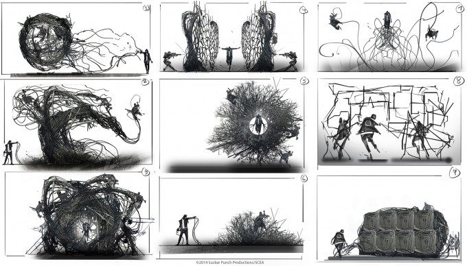 Levi_Hopkins_Infamous_2_Concept_Art_Wire_Power_Sketches