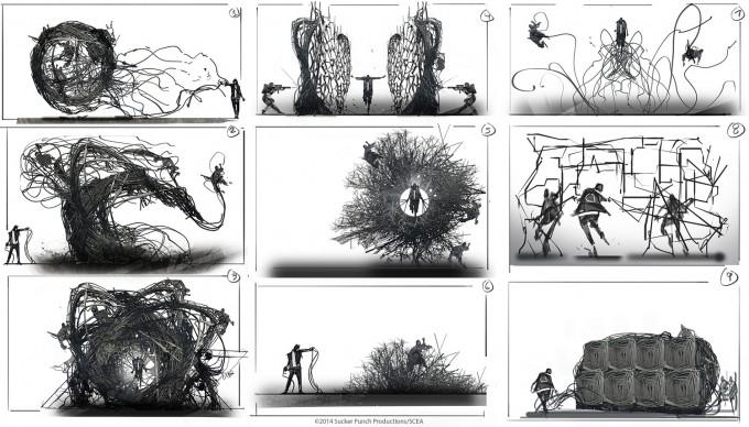 Levi_Hopkins_Infamous_2_Concept_Art_Wire_Power_Sketches