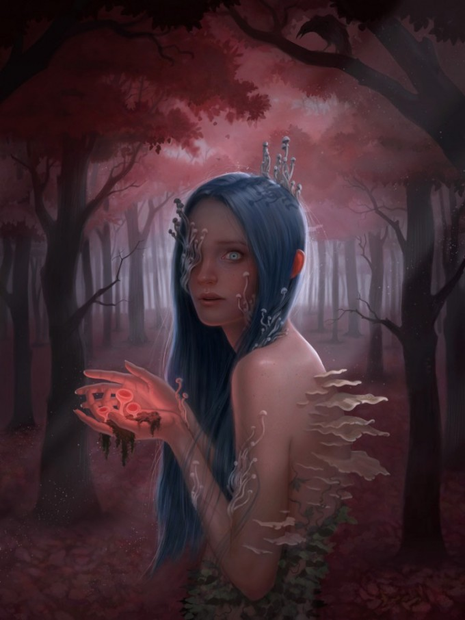 Miranda_Meeks_Art_Illustration_Forest_Girl