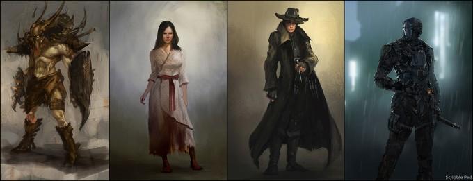 Scribble_Pad_Studios_Concept_Art_character_set