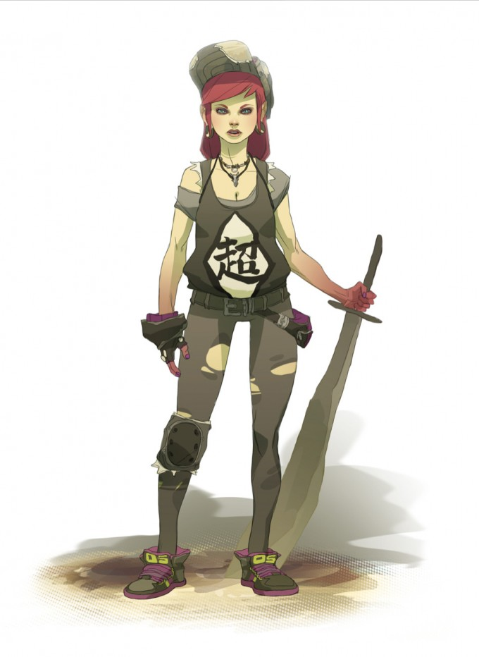 Sergi_Brosa_Concept_Art_Illustration_Wastelang-Girl-Band2