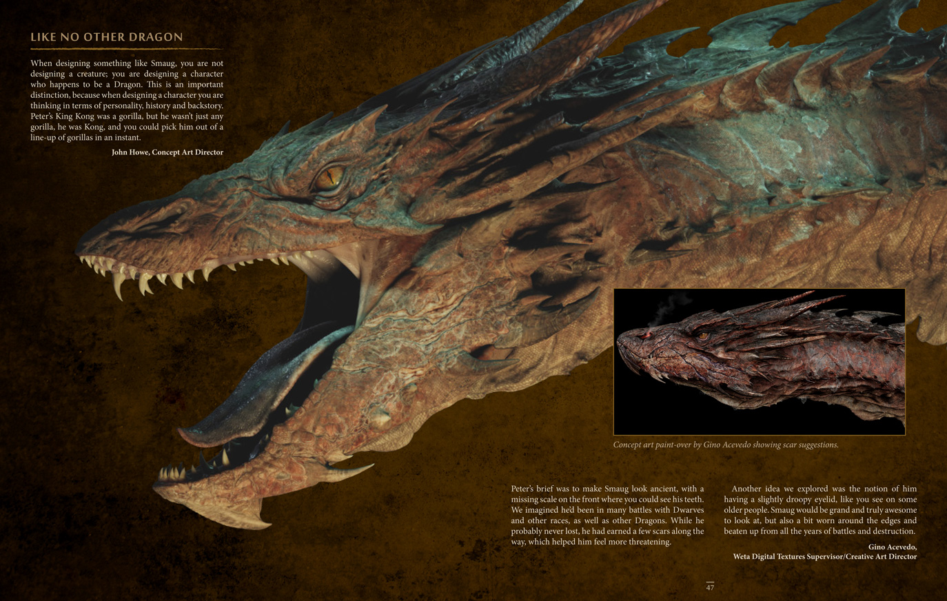 smaug the dragon hobbit - photo #17