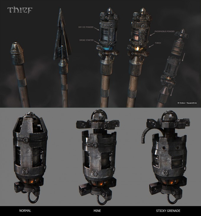 Thief_Game_Concept_Art_SteamBot_13_Combo_Arrows