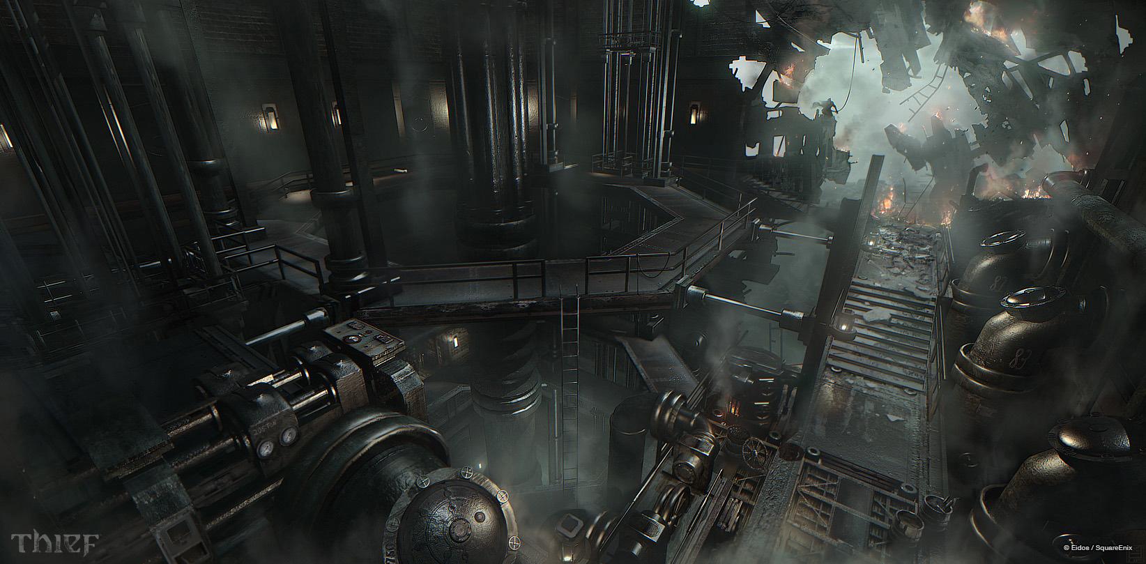 Steambot Studios Talks Thief Concept Art Concept Art World