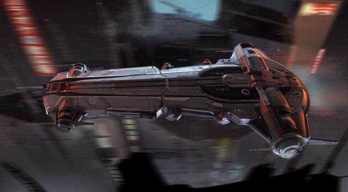 andrian luchian concept art 4th side view