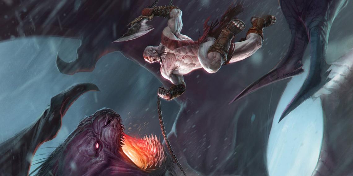 Izzy Medrano God ofWar Concept Kratos M01