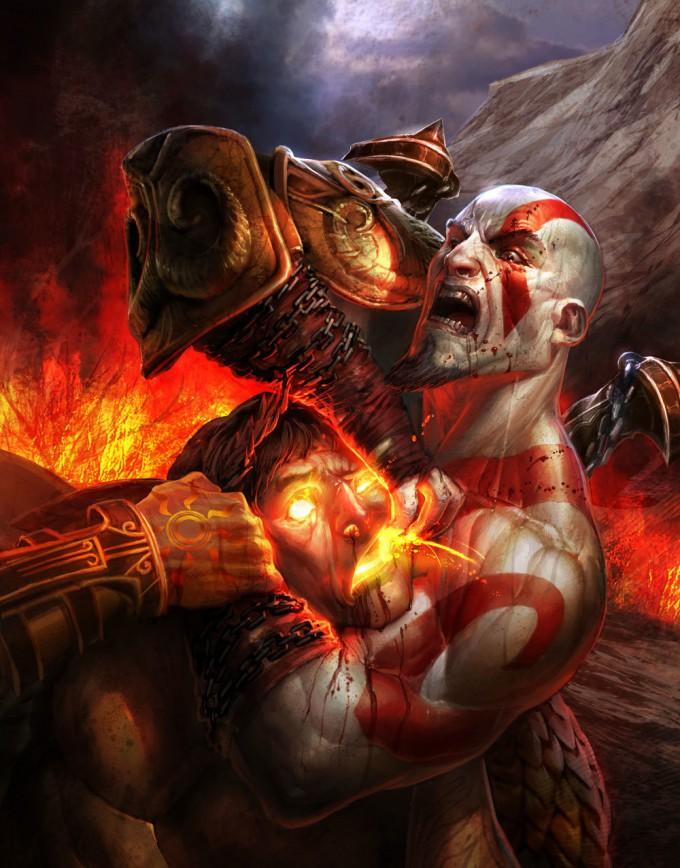 Izzy_Medrano_God_ofWar_Concept_Kratos_vs_Helios