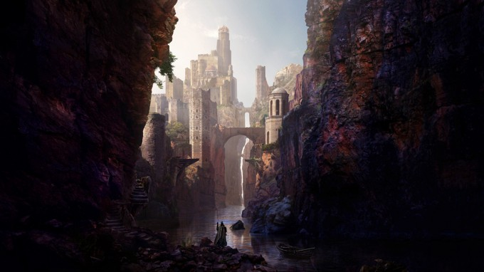 Rasmus_Berggreen_Concept_Art_canyon_castle