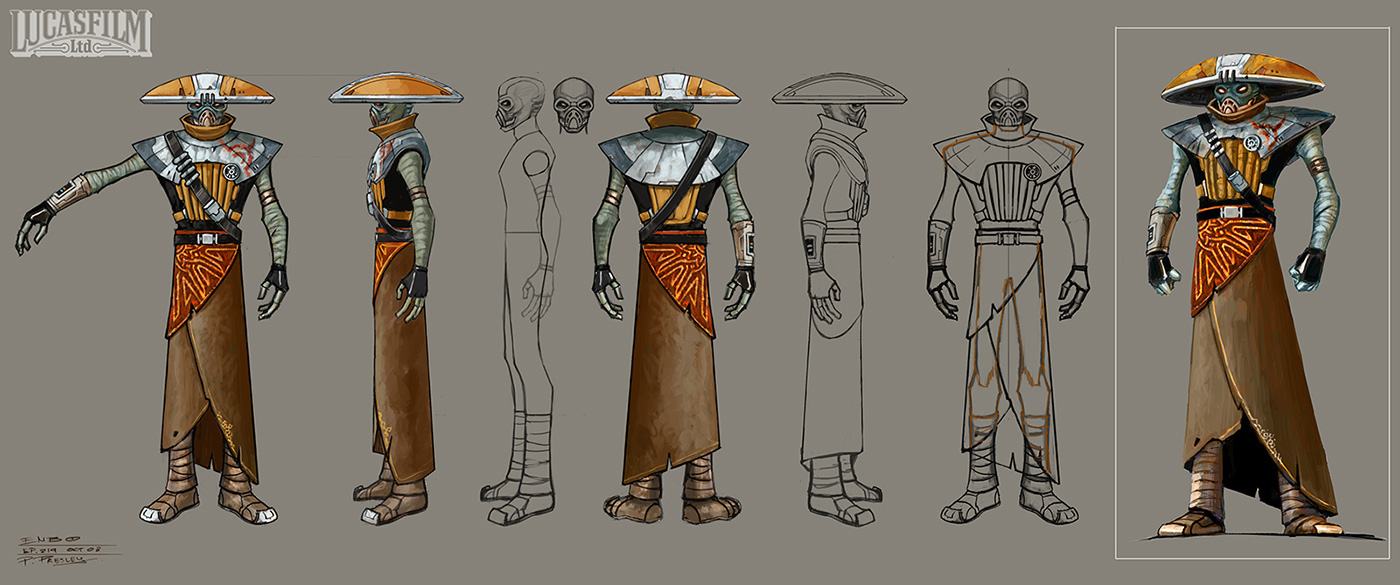 'Star Wars Rebels' and 'Star Wars: The Clone Wars' Concept ...