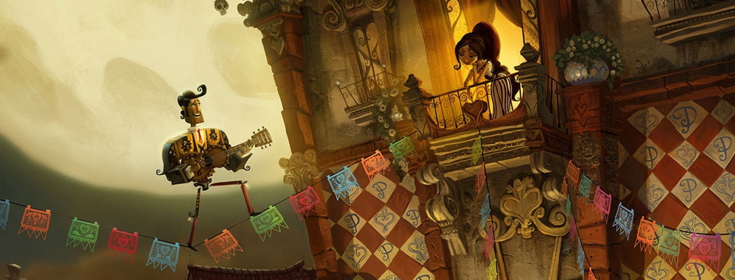 The Book of Life Conept Art Illustration M01