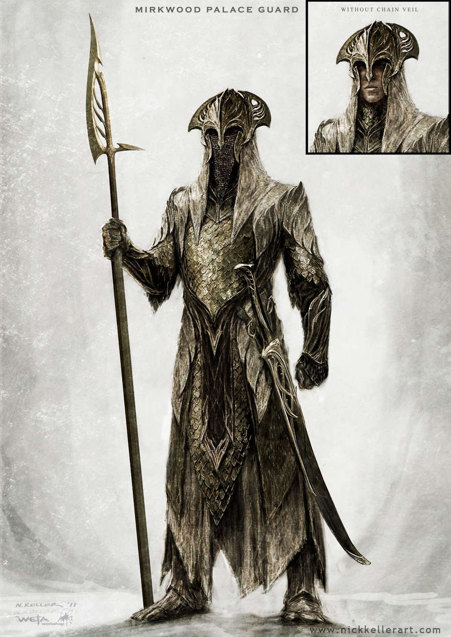 The Hobbit: The Desolation of Smaug Concept Art by Nick ...