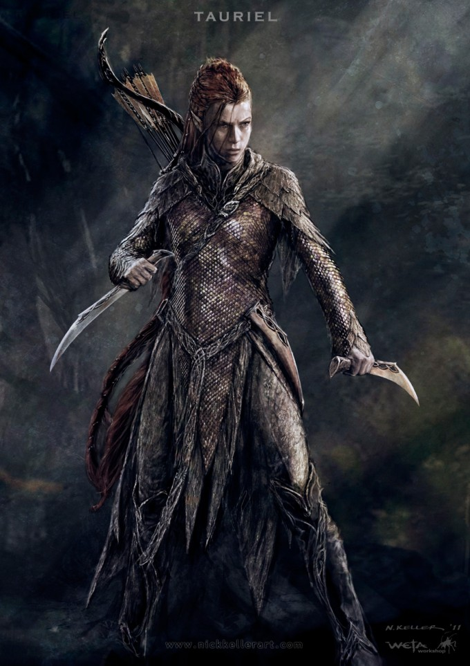 The_Hobbit_The_Desolation_of_Smaug_Concept_Art_Tauriel_02_NK