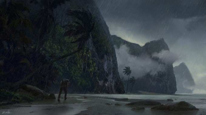 Uncharted_4_Concept_Art_Eytan_Zana_Beach
