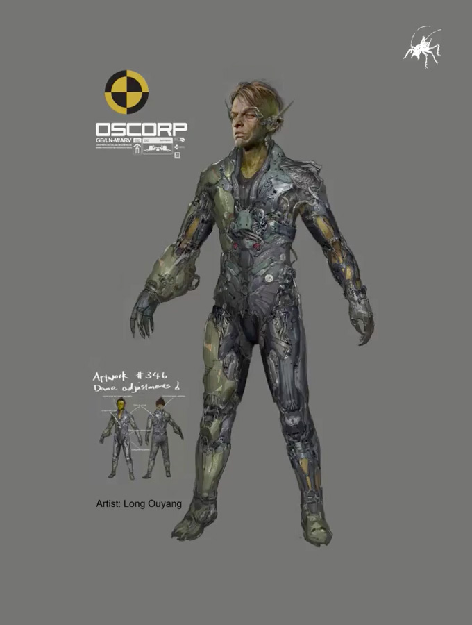 Green Goblin 2014 Suit Concept Art TASM2  Archive