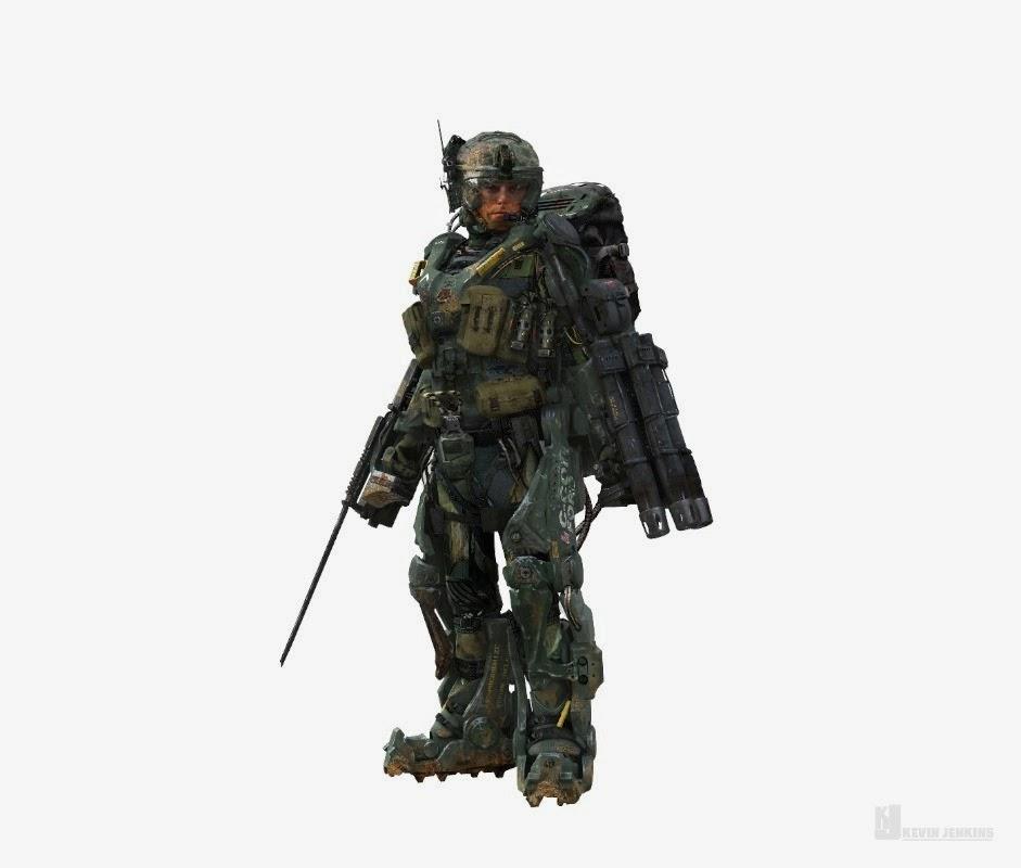 Warhammer Space Marine Concept Art