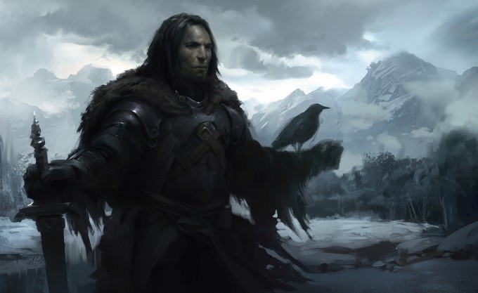 Game_of_Thrones_Concept_Art_Illustration_01_Mitchell_Mohrhauser_Crow