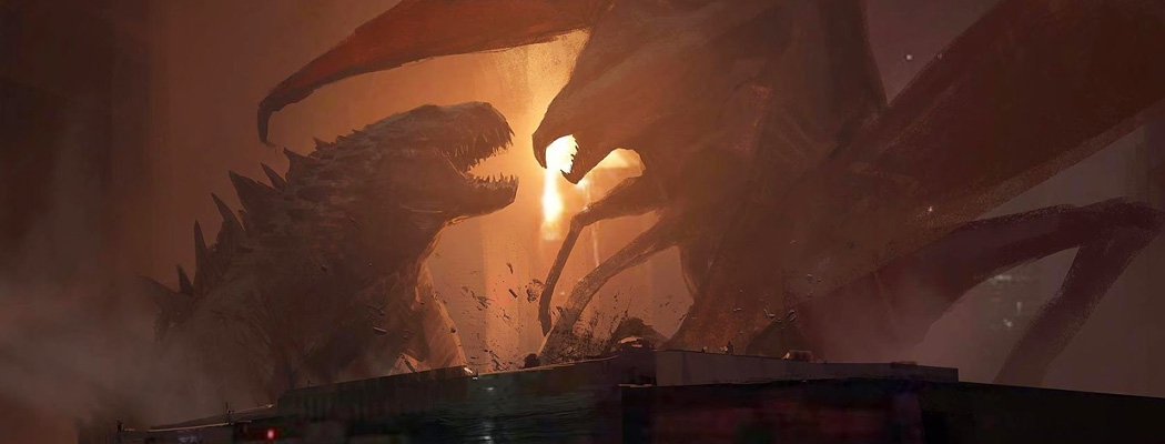 Godzilla Concept Art John Park M01