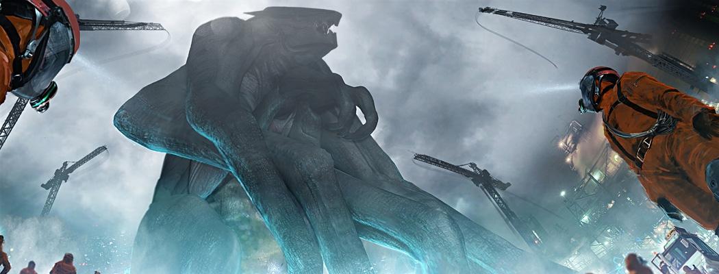 Godzilla Movie Concept Art M01 Warren Flanagan