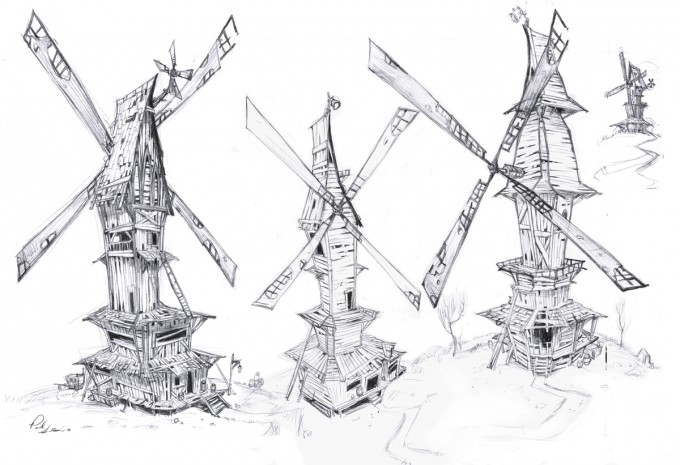 Paul_Sullivan_Concept_Art_Illustration_windmills