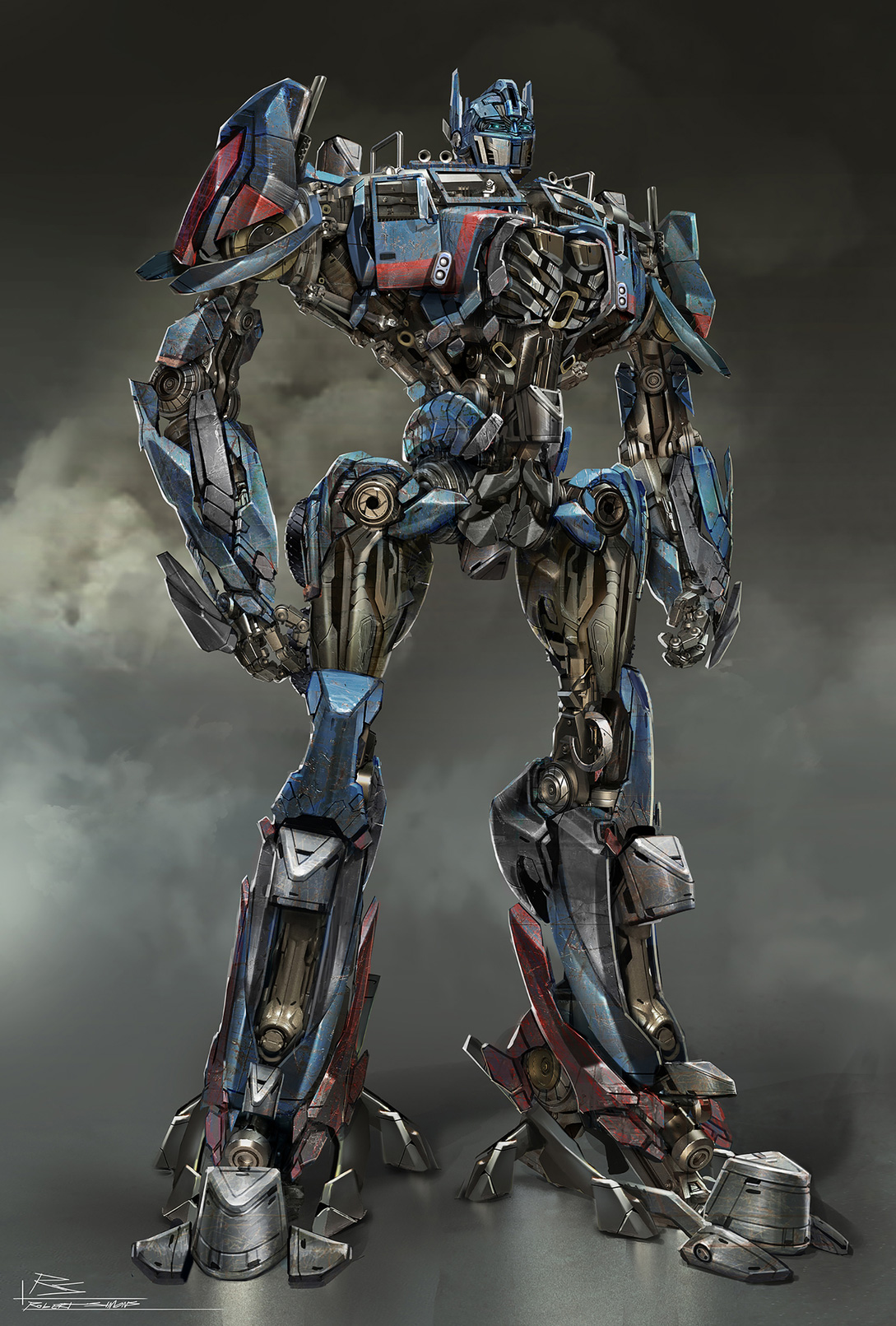 Transformers  Age of Extinction Concept Art by Robert SimonsTransformers Age Of Extinction Optimus Prime Fan Art