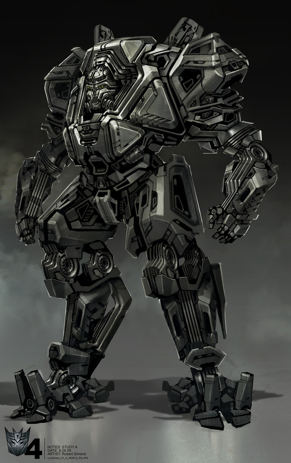 Transformers: Age of Extinction Concept Art by Robert ...