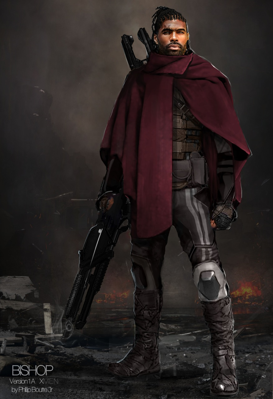Men: Days of Future Past Costume Concept Art by Phillip Boutte Jr ... X Men Days Of Future Past Bishop