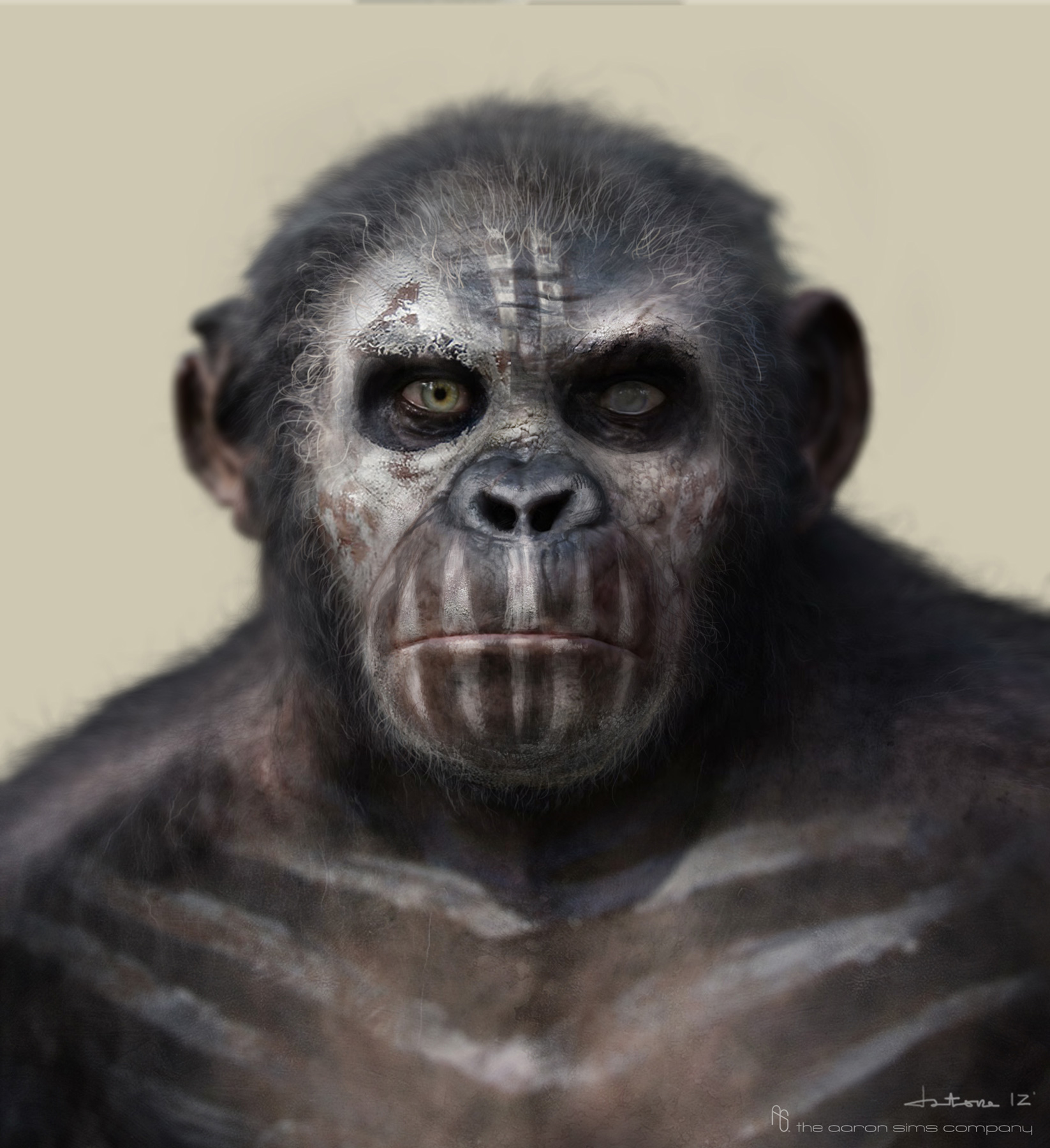 'Dawn of the Planet of the Apes' Concept Art by The Aaron ...