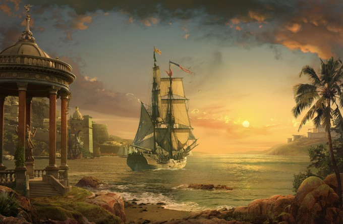 Form_Language_Studio_Concept_Art_07_Sunset_Harbor