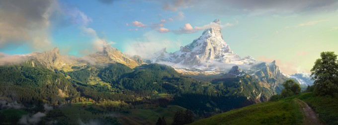 Form_Language_Studio_Concept_Art_15_The_Lonely_Mountain