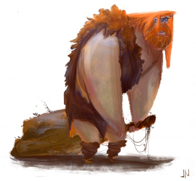 Jason_Norton_Concept_Art_Illustration_Caveman