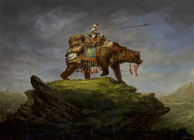 Thomas_Brissot_Concept_Art_Illustration_trusty-steed-painting-legere2