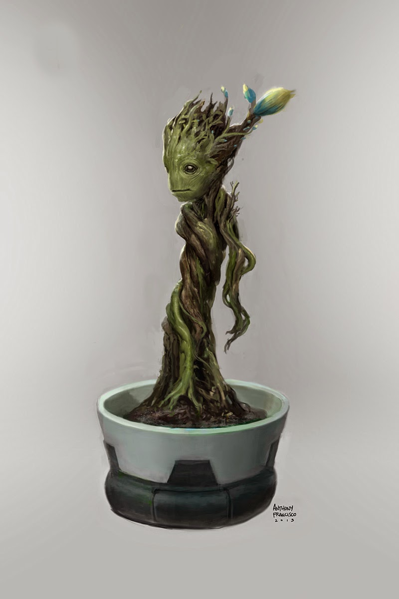 Guardians of the Galaxy Concept Art by Anthony Francisco ...